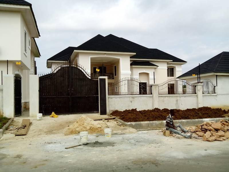 Modern Fence Design In Nigeria Mickeossumner Richardmoorenature Com Fence Rail Designs And Fabrication Artecor Wrought Pin By Darius On Detales Modern Gates Driveway Modern Newly Built 4 Bedrooms Detached House,Small Home Interior Design Indian Style