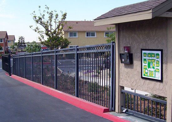 Fence Rail Designs